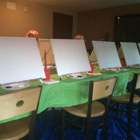 Everyone S A Picasso On Paint Nite At Kc Bars And