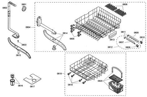 bosch dishwasher parts diagram bosch dishwasher parts bosch dishwasher parts diagrams