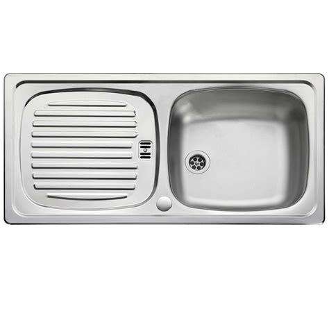 leisure sinks euroline single bowl and drainer 860mm x leisure euroline el860 stainless steel sink kitchen