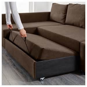 ikea sofa bed friheten corner sofa bed with storage skiftebo brown ikea