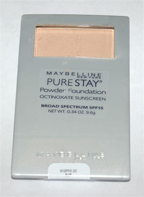 Maybelline Powder Foundation maybelline stay powder foundation color buff 20