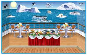 Cheap Classroom Decorations Arctic Cruise Ship Insta Theme Backdrops Amp Props Partycheap