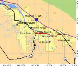 palm desert california map palm desert california ca 92260 profile population