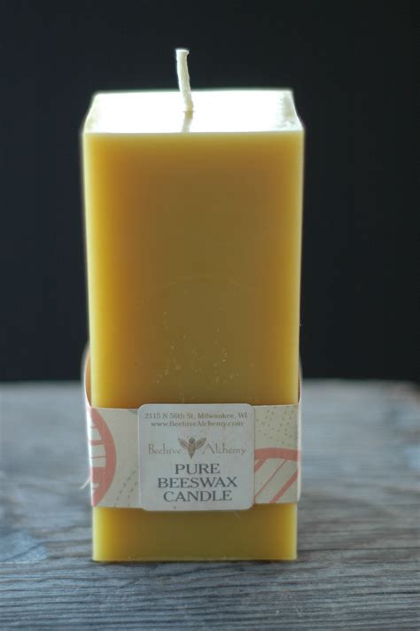 beeswax 2 manuscripts beeswax alchemy and beeswax candle books sqaure rectangular beeswax pillar candles