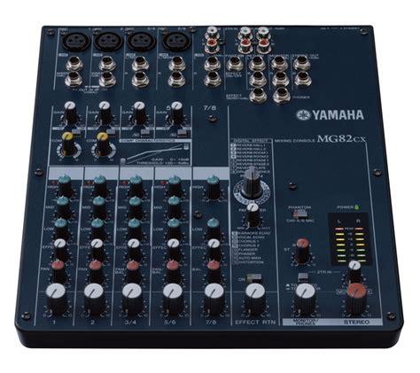 Second Mixer Yamaha Mg82cx yamaha mg82cx ม กเวอร พร อมเอฟเฟ ค 8 input 4 mono 2