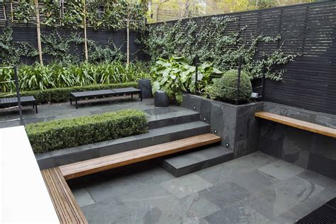 modern small backyard small city garden design in kensington london designed by