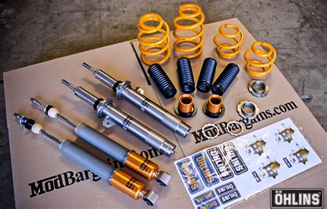 Shock Ohlins Kw ohlins road track coilovers for 1999 2006 bmw m3 e46