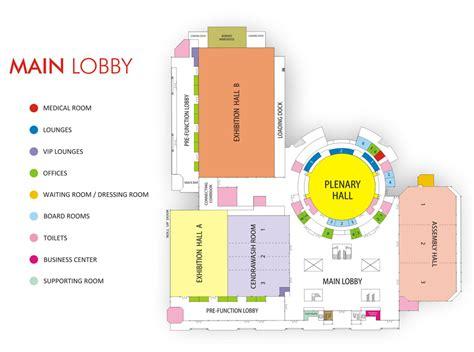 kegunaan layout peta pameran jcc dan seputar informasinya dunia eo jakarta