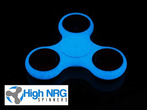 Fidget Spinner Glow In The New Spiner Glow edc glow in the spinner fidget 3d printed