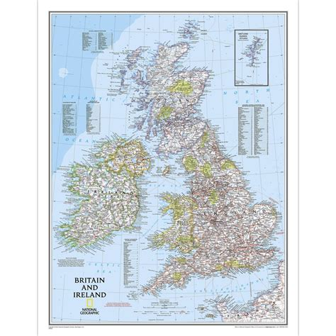 south africa classic laminated national geographic reference map books britain and ireland classic wall map laminated national