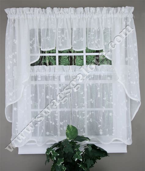 sheer kitchen curtains savannah cafe curtains oyster united sheer kitchen