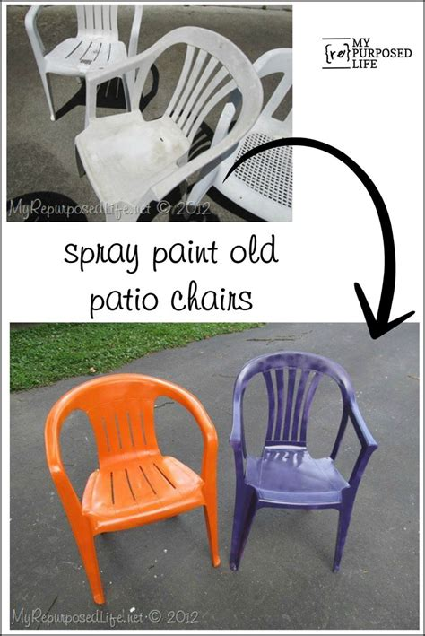 Best Spray Paint For Plastic Chairs - best 25 painting plastic chairs ideas on