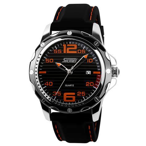Jam Tangan Pria Quiksilver 1 skmei jam tangan analog pria silicone 0992c black jakartanotebook