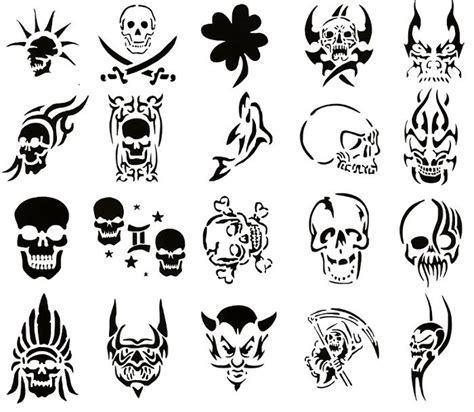 skull tattoo stencil designs http tattooeve com be