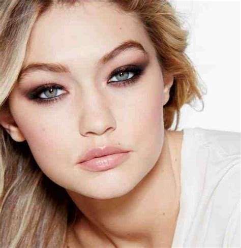 Green Blue Eyed Beauty Gigi Hadid Goes with Maybelline