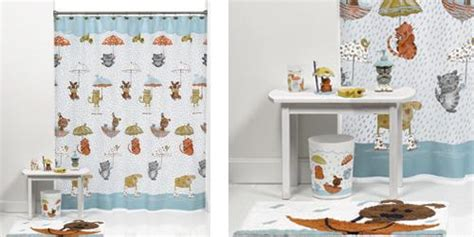 cat bathroom set raining cats and dogs 17 pcs bathroom set shower curtain