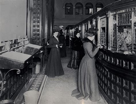 vintage bank vintage photos in 1900 fifth avenue bank had a s