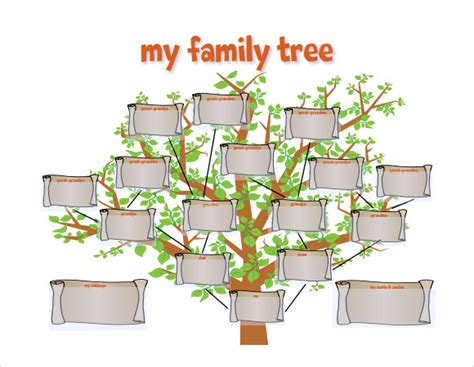 family tree timeline template 9 timeline templates for students sles exles