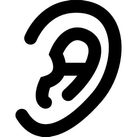 forme de l oreille humaine t 233 l 233 charger icons gratuitement