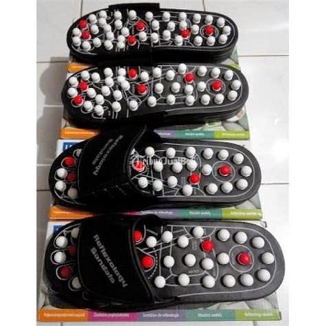 Alas Kaki Peninggi Tubuh Alat Terapi Sandal Sepatu Kesehatan Coklat sandal kesehatan reflexology blueidea sendal refleksi alat pijat kaki termurah jakarta pusat