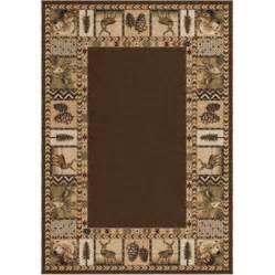 big brown area rug walmart