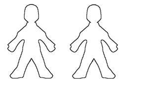 Outline Of A Human by Outline Of Human Clipart Best