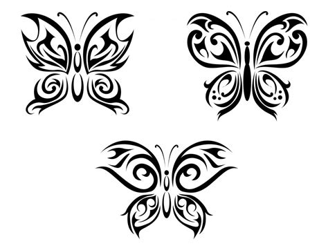 butterfly with tribal tattoos butterfly tattoos designs ideas and meaning tattoos for you
