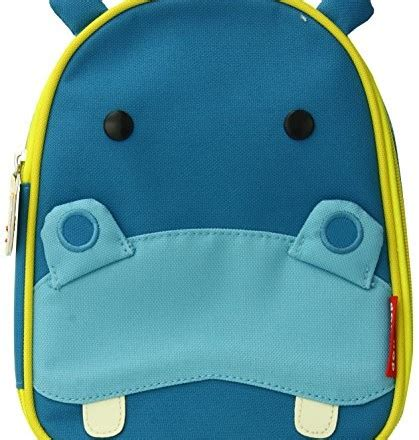Skip Hop Zoo Lunchies Insulated Lunch Bag Hedgehog skip hop zoo lunchies insulated lunch bags hippo