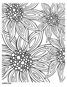free printable flower coloring pages for adults summer coloring pages for adults free printables