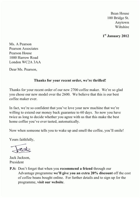 Letter In Business sle business letter uk the best letter sle