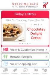 special k weight management new special k mobile application helps you stay on track