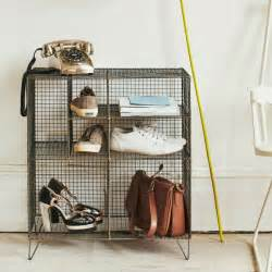 hallway furniture brings storage solutions with industrial