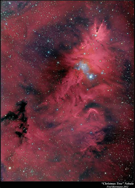 christmas tree nebula tree nebula ngc 2264 astronomy magazine interactive charts planets