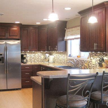 raised ranch kitchen ideas traditional kitchen peninsula raised ranch kitchen design