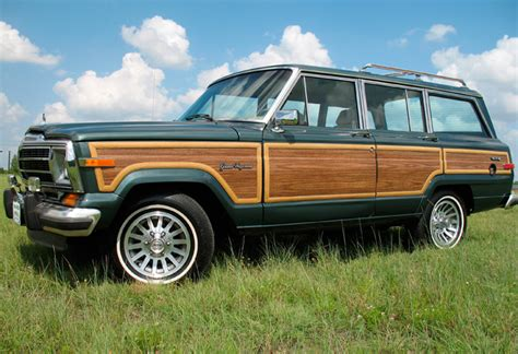 1991 Jeep Grand 1991 Jeep Grand Wagoneer Photos Informations Articles
