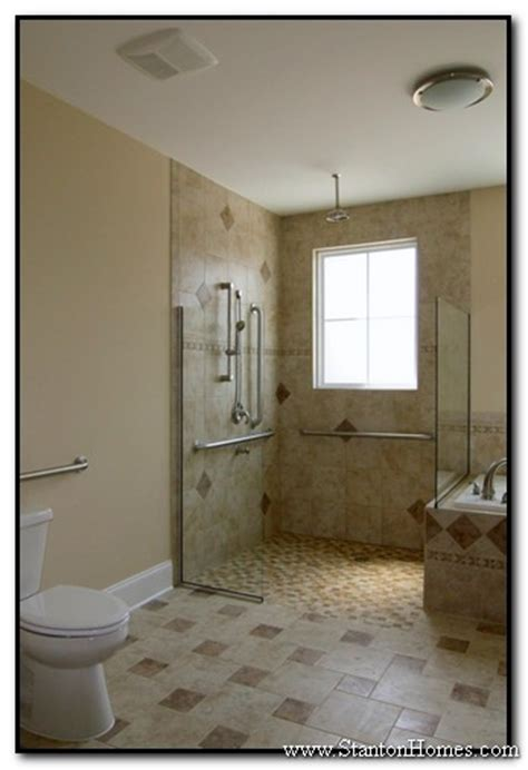 accessible bathroom shower design ideas wheelchair accessible homes