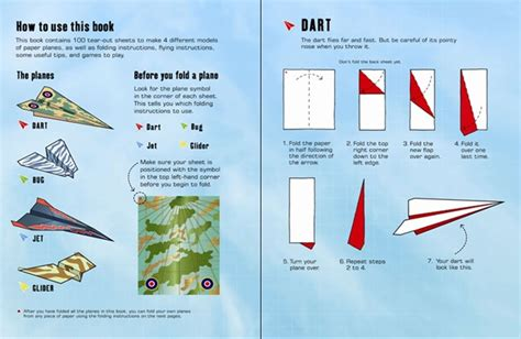 Fold And Fly Paper Planes Book - fold and fly paper planes book 100 paper planes to fold