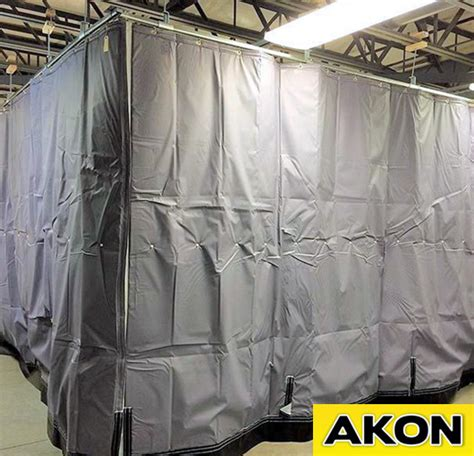 insulated industrial curtains insulated curtains akon curtain and dividers
