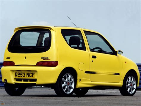 Fiat Abarth Uk Fiat Seicento Sporting Abarth Uk Spec 1998 2001 Images