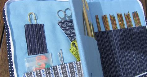 zippered knitting needle zippered knitting needle organizer by just do she also