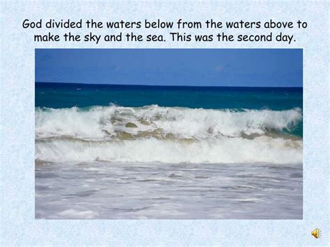 master of the sky and sea the story of ted books ppt judeo christian creation story powerpoint