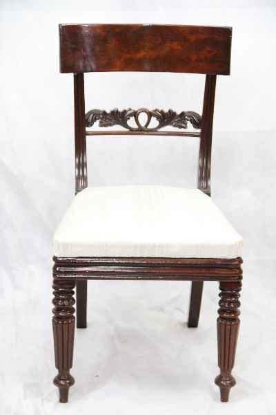 antiquitäten sessel seltenes georgian paar st 252 hle chairs mahagoni