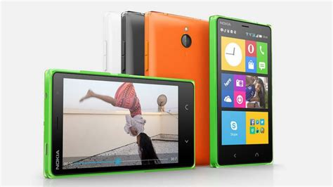 Hp Nokia X2 Androit Nokia X2 Android 4 3 Inch Display And Dual Sim For 135