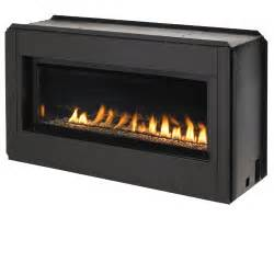 fmi lights 43 quot linear vent free fireplace gas