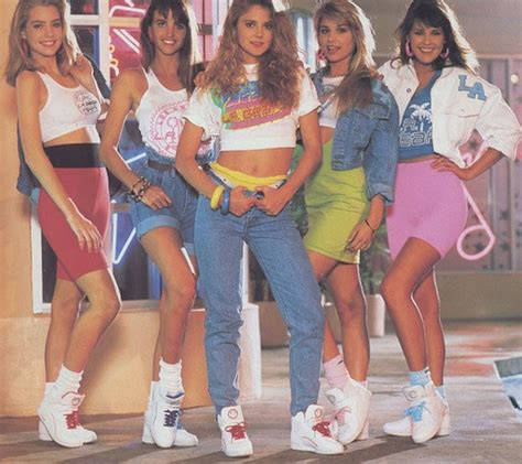 return to the 80s with 80s fashion