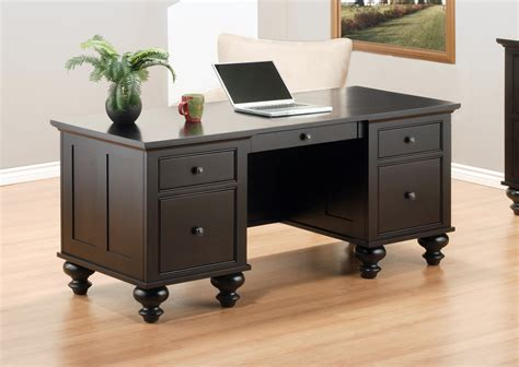 brown wood office desk dark brown wood desk collection eco friendly home office