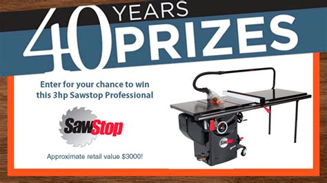 Sawstop Giveaway - dan smith s dream shop and tool chest finewoodworking