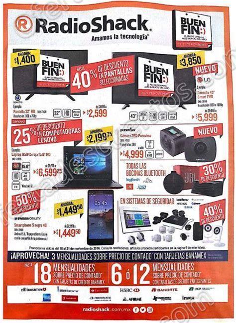 ofertas del buen fin 2016 folleto de ofertas del buen fin 2016 en radioshack