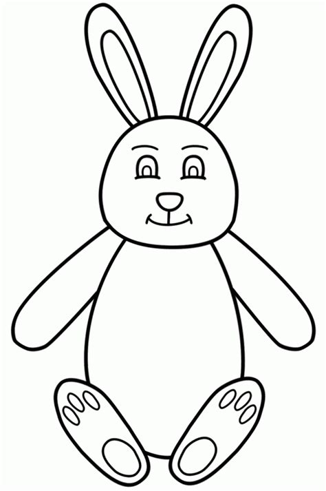 coloring pages bunny face easter bunny face coloring pages 485506