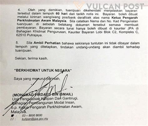 Format Memo Jpa Medicine Grads Rm1 Million To Jpa For Not Fulfilling Scholarship Terms